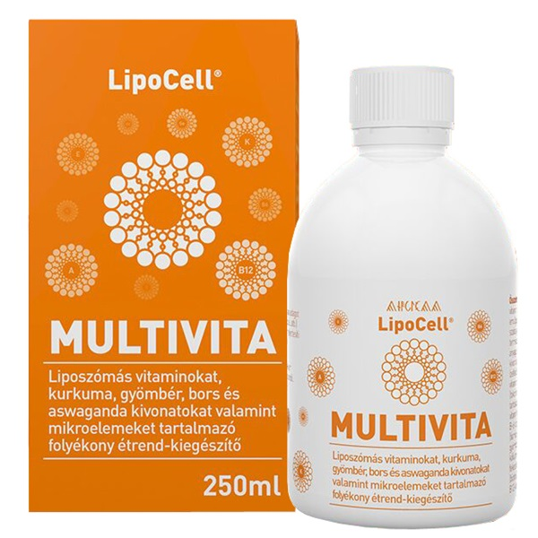 LipoCell Multivita liposzómás multivitamin 250ml